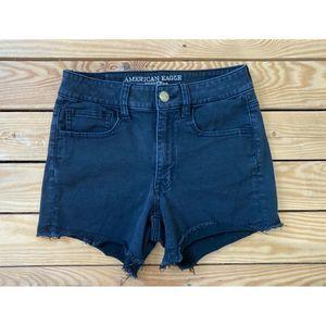 AMERICAN EAGLE Super Stretch Cut Off Shorts Size 6